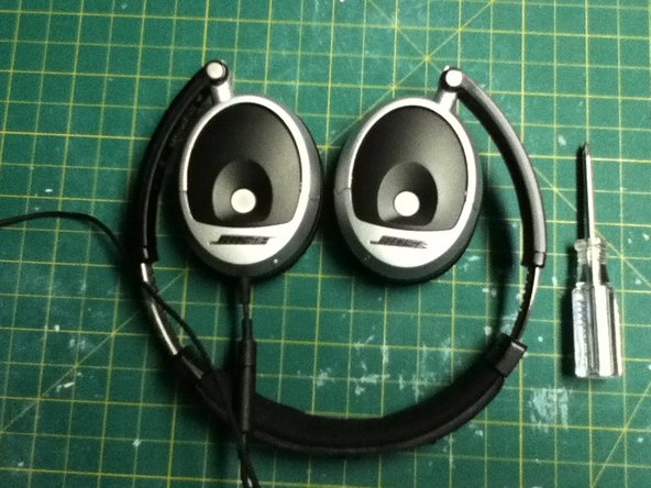 To repair a short in the wires, the head band has two screws, just above the headphones cups.