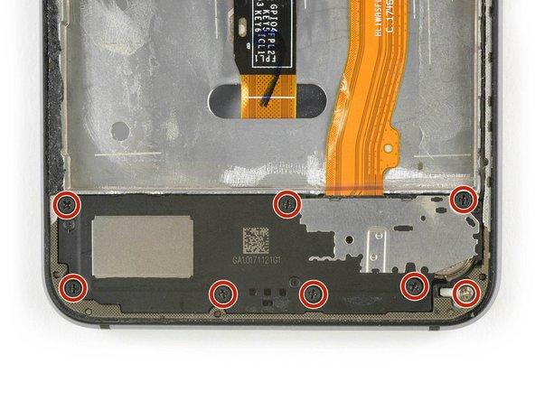 Remove the eight Philipps #00 screws.
