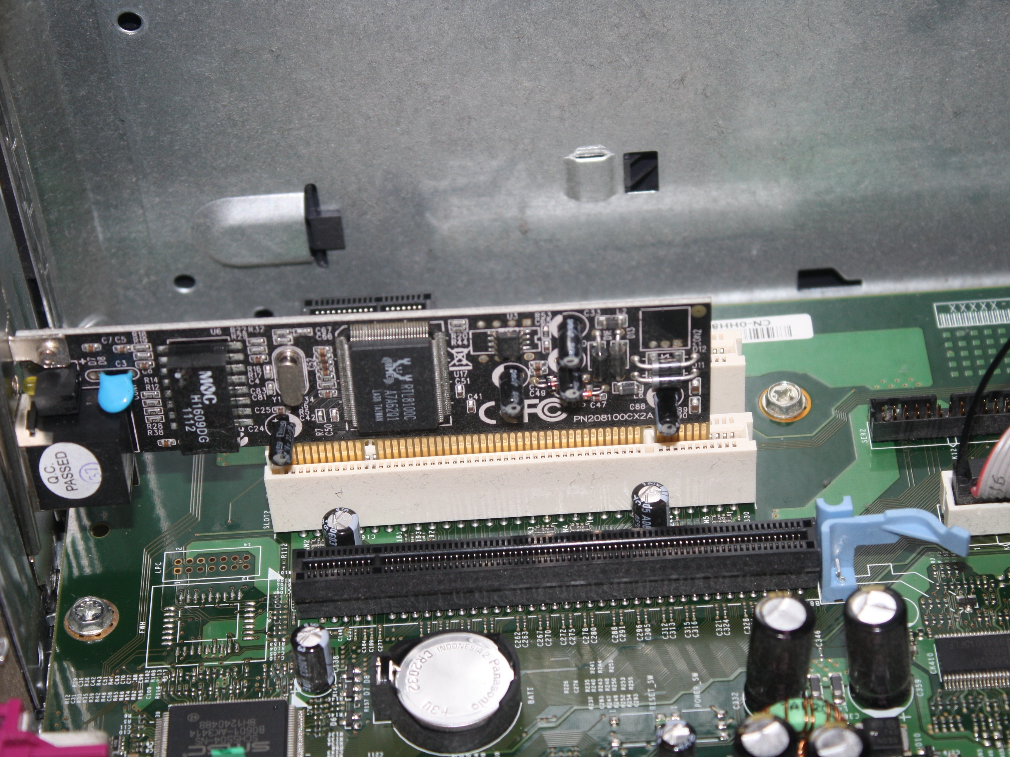 Motherboard · Network Adapter