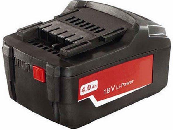 18V Li-Ion Battery 6.25457 for METABO W18LTX SB18LT SSD18LT SSW18LT Main Image