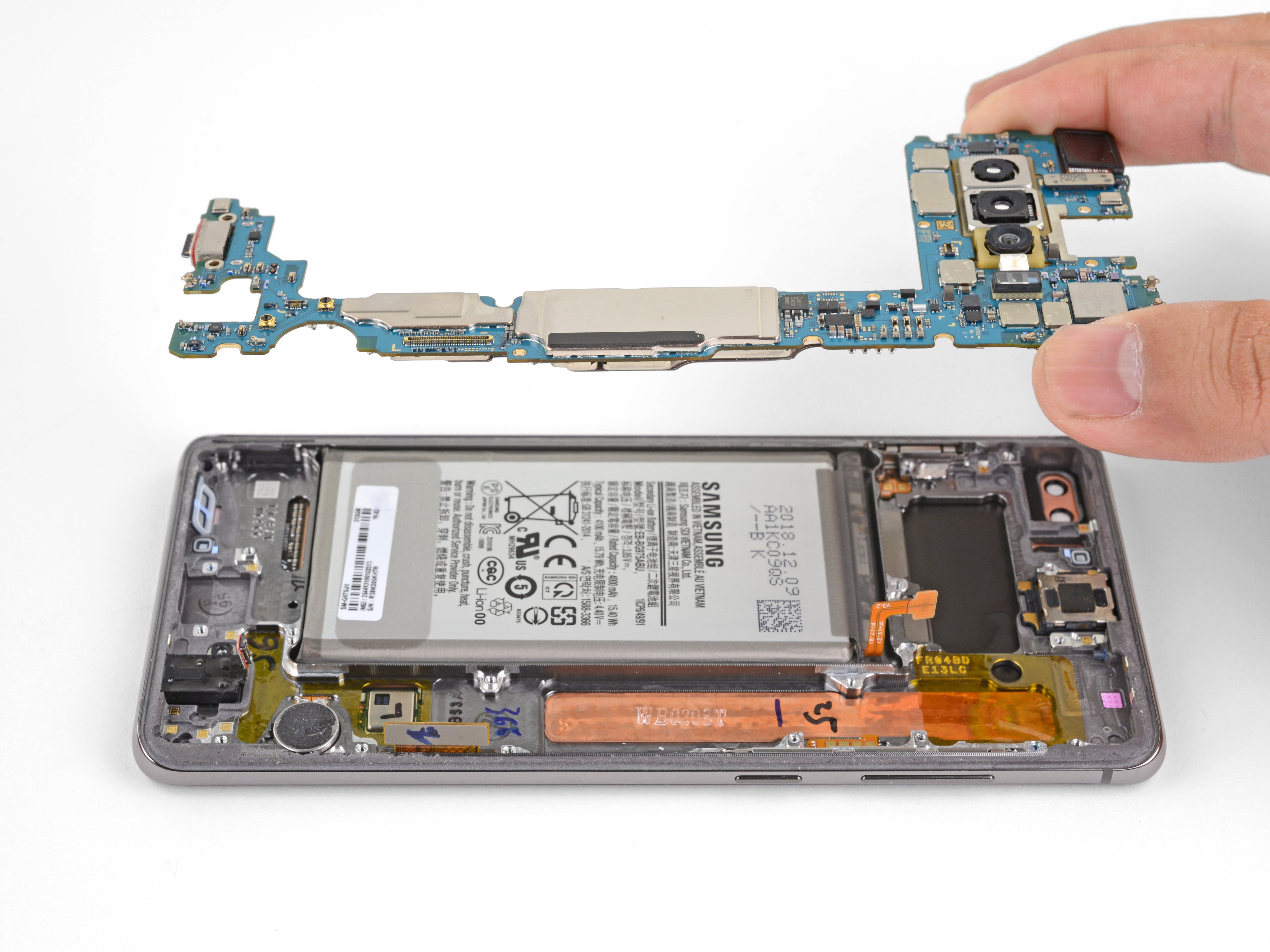 Samsung Galaxy S10 Plus Motherboard Replacement - iFixit Repair Guide