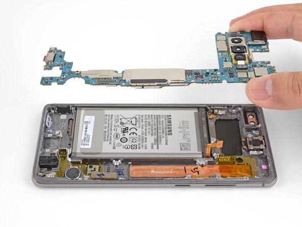 Samsung Galaxy S10 Plus Hauptplatine austauschen