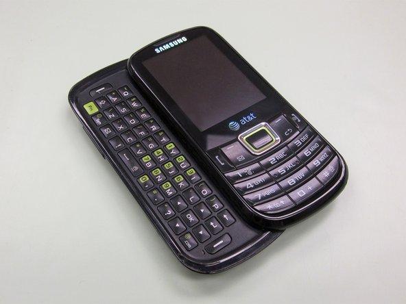 Teardown of Samsung's environmentally friendly full keyboard messaging phone.