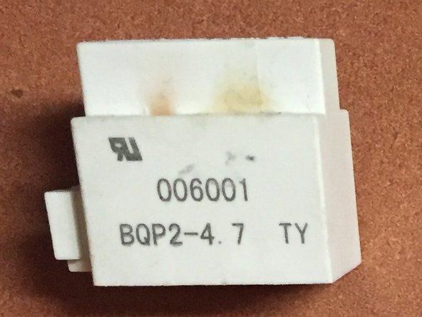 BQP2-4.7 Freezer Relay Repair