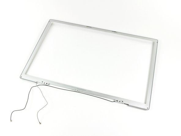 "PowerBook G4 Aluminum 17"" 1.67 GHz (High-Res) Front Display Bezel Replacement"