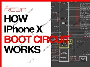 How iPhone X Boot Circuit Works