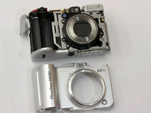 Canon PowerShot A630 Front Panel Replacement