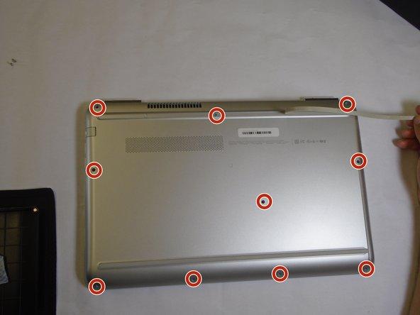 HP Pavilion 15-au123cl Fan Replacement