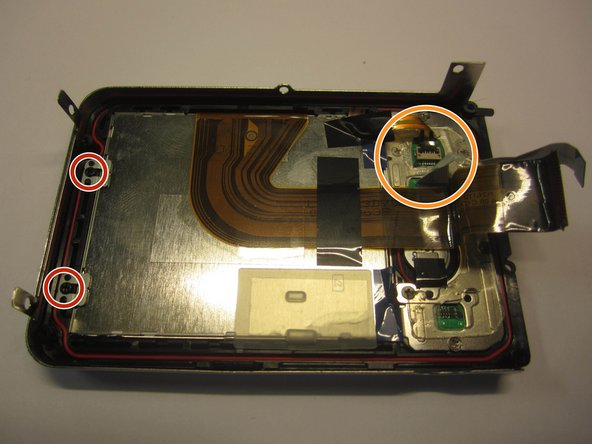 Olympus Stylus Tough-8010 LCD Screen Component Replacement