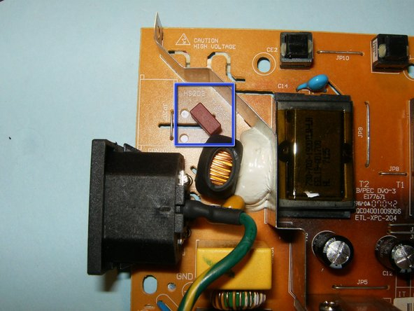 Image 2/3: and needs to be checked on the solder side of the board.