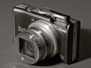 Canon PowerShot SX200 IS Repair