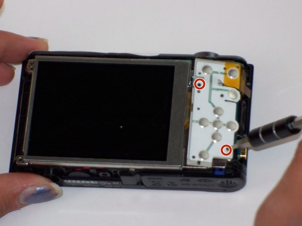 Sony Cyber-shot DSC-W800 Button Board Replacement