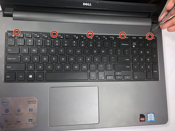 Dell Inspiron 15-5559 Keyboard Replacement