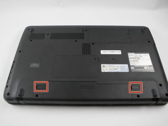 Toshiba Satellite L775D-S7340 Battery Replacement