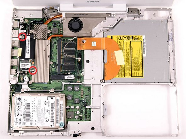 "iBook G4 14"" 933 MHz-1.33 GHz Modem Replacement"