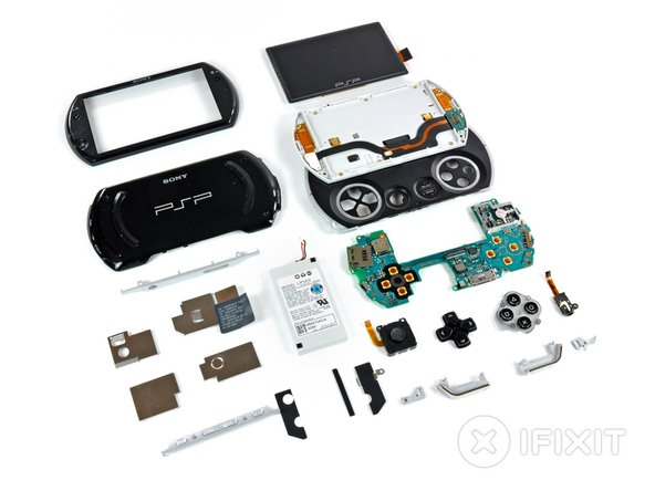 Image 1/1: Curious how the PSP stacks up the the handheld gaming competition on the inside? We have both a [guide|714|DSi teardown] and an [guide|1158|iPod touch teardown].