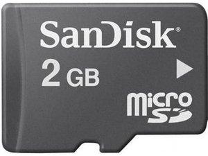SanDisk MicroSD Card 2GB