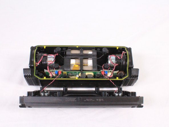 Speakers on the front casing have wires directly connected to the motherboard. Pulling off the casing with force will result in damage.