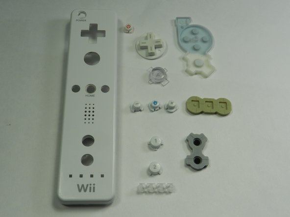 Nintendo Wii Remote Main Buttons Replacement