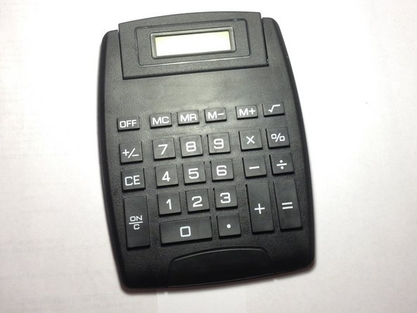 Image 1/1: The Dollar Tree calculator performs the basic functions: addition, subtraction, multiplication, division