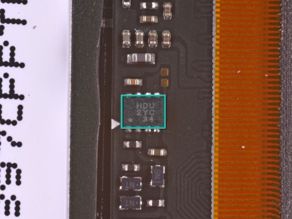 Image 3/3: Silicon Mitus SM4031 DA1232 SMCP043, Display PMIC