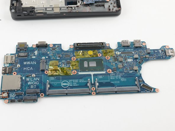 Image 2/2: Removing the keyboard to get to the main board is a little tedious. Lack of adhesive and clear instructions make up for the complicated procedure.