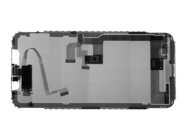 También disfrutando el paseo: un dispositivo STMicro nuevo que nunca hemos visto antes, probablemente el driver del OLED, etiquetado 10 THADT733 X-139U.
