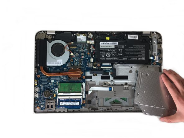Toshiba Satellite P55-A5312 CD Drive Replacement