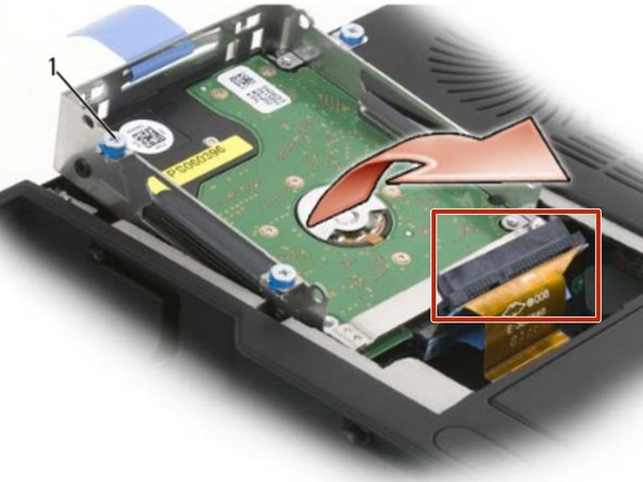 Carefully remove the SATA cables from the hard drive or drives that are  installed in the cage.