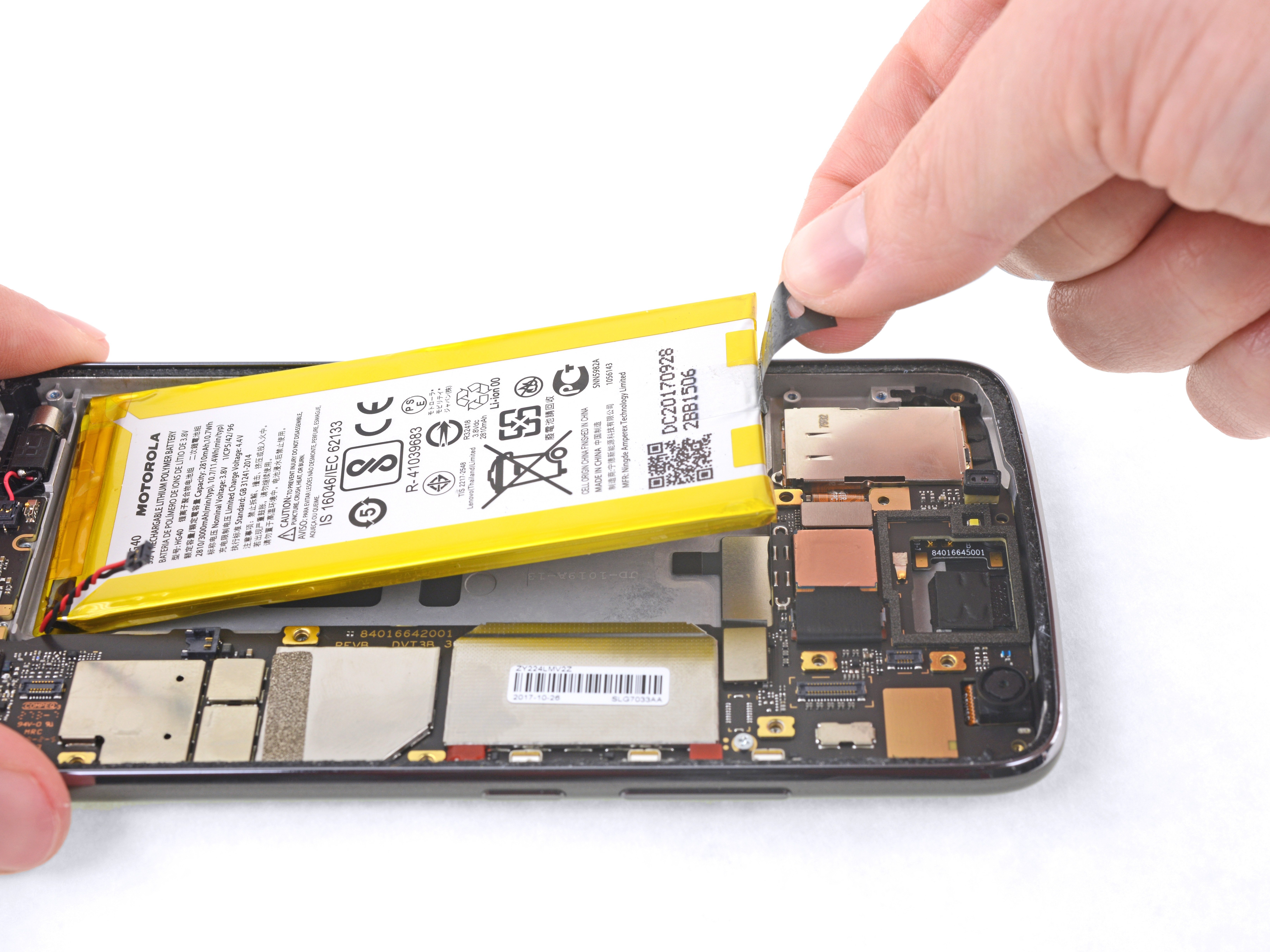 the latest 53e56 0bcaa Motorola Moto G5 Plus Battery Replacement - iFixit Repair Guide