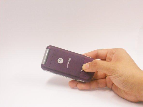 Remplacement de la batterie du Motorola MOTO  W755