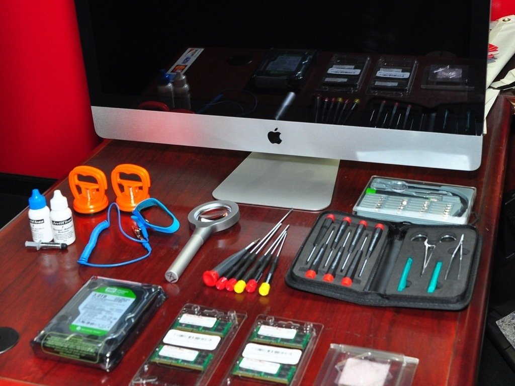 Upgrade iMac Intel Core i3 CPU to Core i7 - iFixit Repair Guide