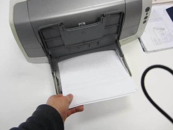 How to load HP Deskjet 6122 paper