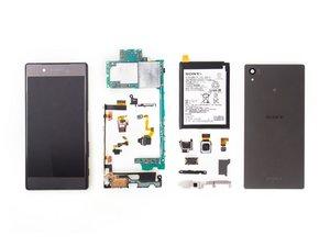 索尼Xperia Z5拆解