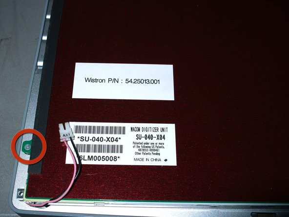 Some HV121P01 are IBM/Lenovo/Thinkpad parts. Comes with Wacom Digitizer and front shield. Remove the Wacom Digitizer first.
