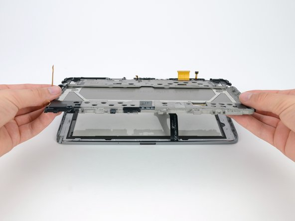 Image 2/3: ''Success!'' Repair enthusiasts everywhere—rejoice! The front glass and LCD can be separated and replaced individually. [guide|6610|iPhone design engineers|stepid=28314] should take notes.