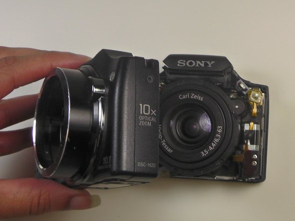 Sony Cyber-shot DSC-H20 Front Cover Replacement