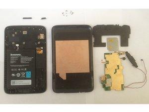 Lenovo Ideatab A1000 Teardown / Take apart / Disassembling