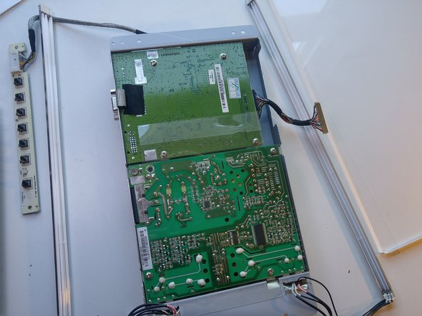 Image 2/2: You have successfully completed a teardown of the Envision EN7410 monitor