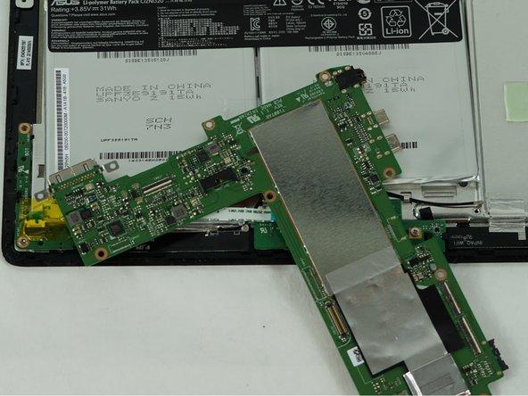 Asus Transformer Book T100TAR Motherboard Replacement