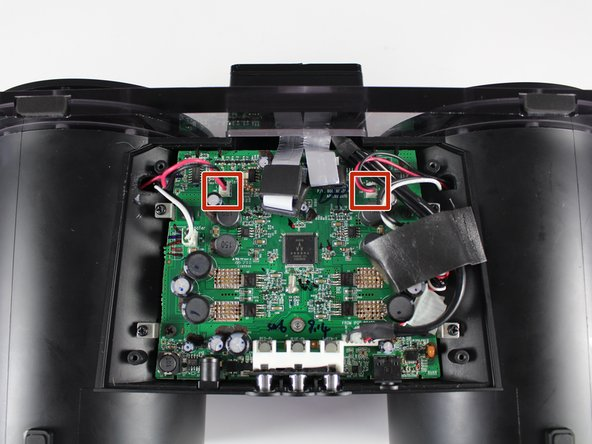 Both speakers should be removed at this point. If only one speaker has been removed, follow steps 12-14 of this guide to remove the other speaker.