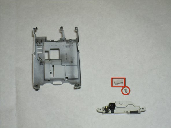 With the back panel, you will slowly take the Connector Housing by first pushing and sliding it off the back panel.