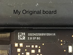 SOLVED: Hard Drive/OS not recognized after logic board replacement