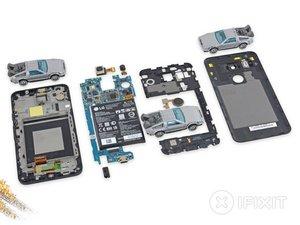 Vue éclatée du Nexus 5X