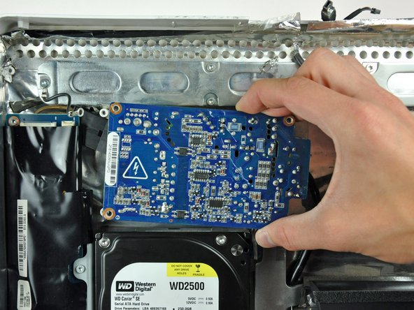 Image 1/1: Do not touch the face of the power supply board to avoid electric shock.