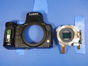 Panasonic Lumix DMC-GH3 Disassembly