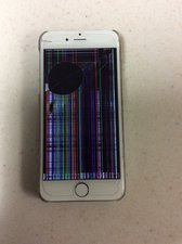 SOLVED: My iPhone 6 has lines and black spots all over the