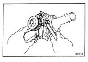 1996 toyota camry v6 water pump replacement