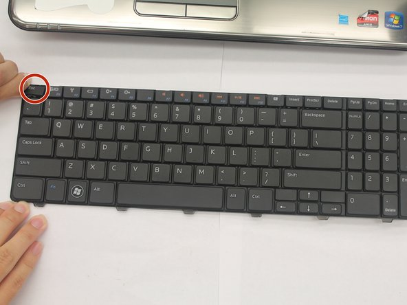 Dell Inspiron M5010 Keyboard Keycap Replacement