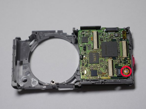 Panasonic Lumix DMC-FH27 Main Board PCB Replacement